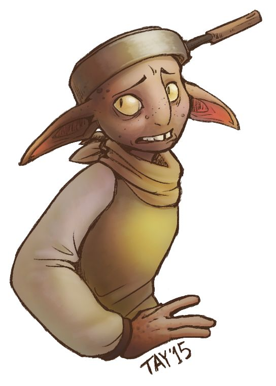 Look at this scrawny trash goblin who tries to make people think he's a hero. He knows he's a coward but he doesn't want to admit it. How did he even become a chaski? The whispere...