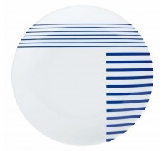 Assiette plate bleue finist re bretagne d co et - Dress code rennes ...