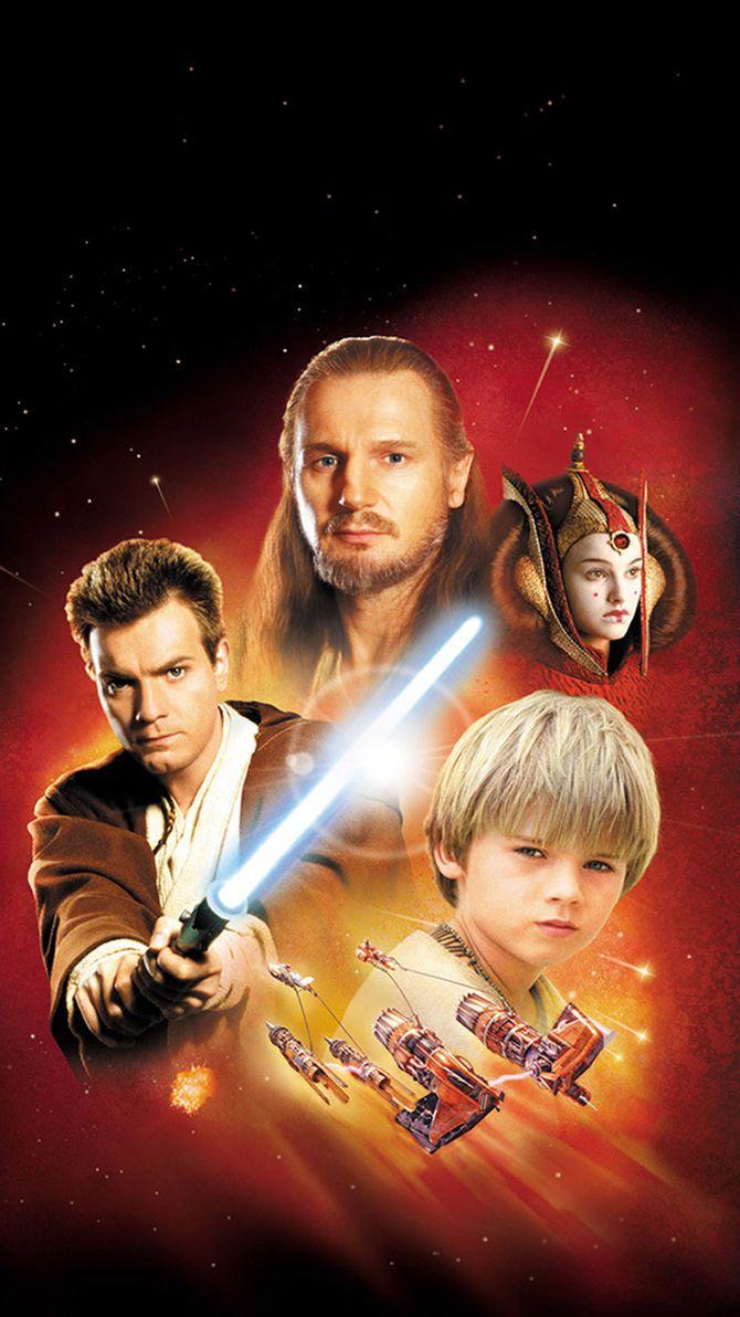 Star Wars Episode I The Phantom Menace 1999 Phone Wallpaper