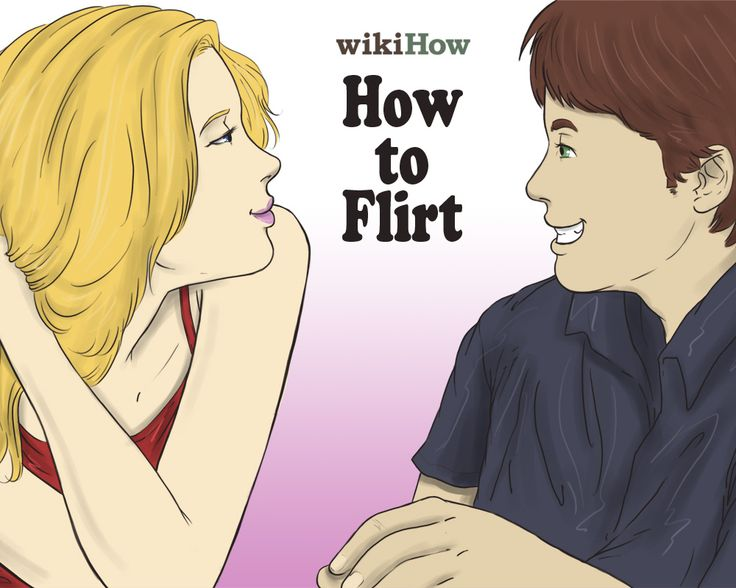 how to be brave wikihow flirt