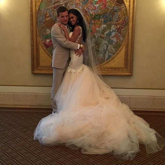 Pin for Later: 14 Ways Rob Dyrdek and His Wife's Romance Is Totally Over-the-Top (and Adorable!) It's Almost as Gorgeous as Her Wedding Dress