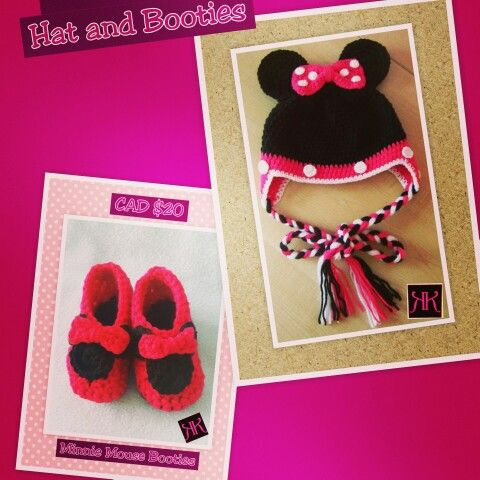 Minnie Shoes and Hat Set