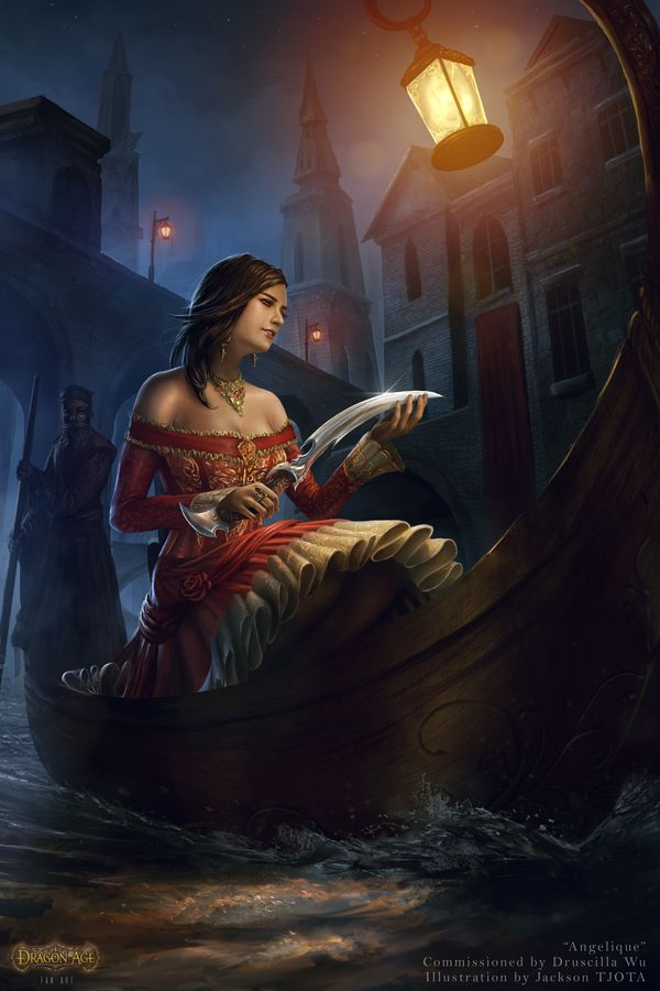 exotication:  Angelique of Antiva by tjota