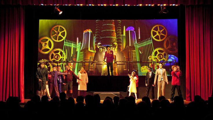 Charlie And The Chocolate Factory Middle School Play