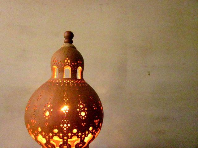 ひょうたんランプ mini lamp mosque