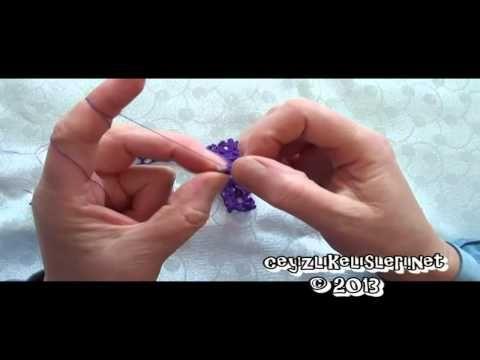 How to do crafts : Tığ Oyası Nasıl Yapılır 43 - YouTube