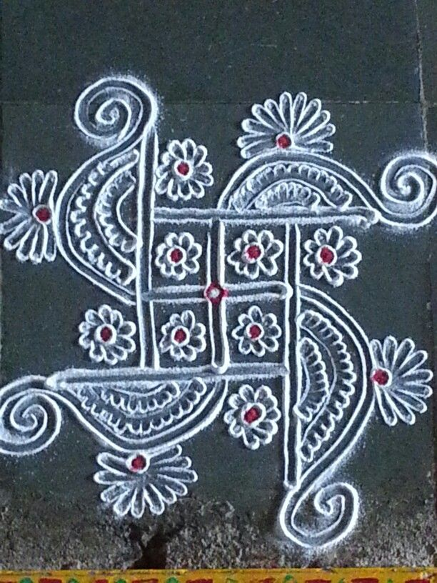 Todays rangoli Rangoli PatternsRangoli IdeasBeautiful 365
