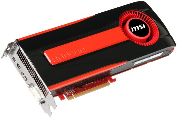 MSI videokaart voor een game PC