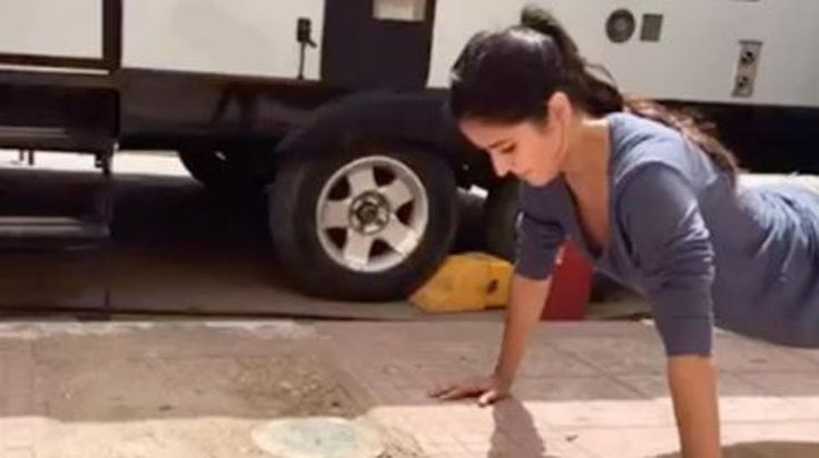 Katrina Kaif is one of the fittest actors in Bollywood today. But here latest fitness video from the packages of Tiger Zinda Hai is surprising to state the least.  HT Correspondent Katrina Kaif raises her fitness game with this video tutorial. Katrina Kaif is our fitness motivation. If those abs-to-kill-for didn't make you wear your sneakers and head to the gym, this video tutorial of her doing push-ups will definitely get it done for you. Katrina, who's busy firing Tiger Zinda Hai with…