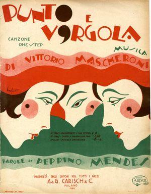 Punto e Virgola, 1929 (ill.: Bonfanti); ref. 11760