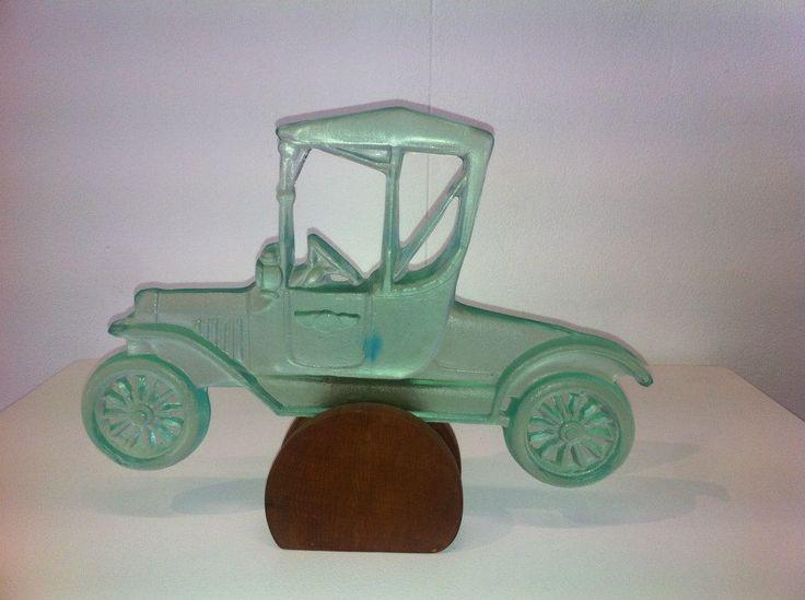 Green Model Ford T Car