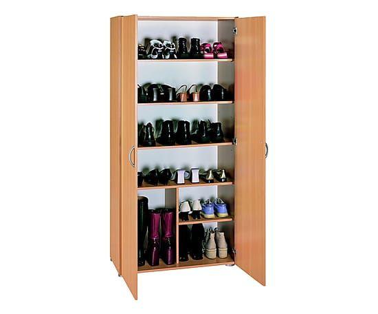 Armadio multiuso a 2 ante in legno tinta faggio - 42x170x80 cm  L'offerta e' composta da: 1 armadio multiuso Il prodotto e' fornito da montare