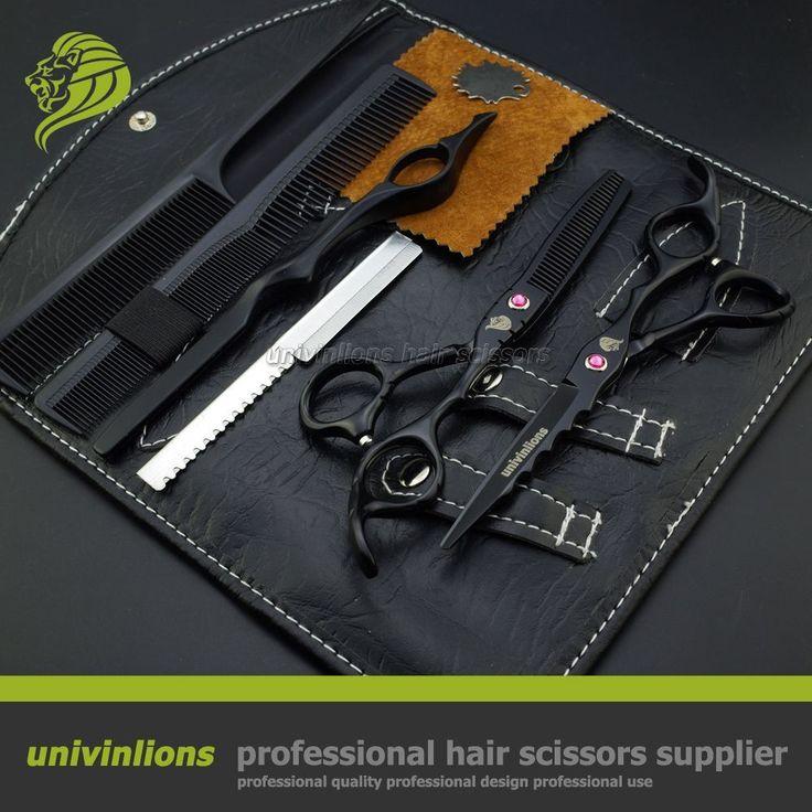 "6"" wave blade hot professional hair scissors for hairdresser supplies razor hair cutter hair cut salon scissors pinking coiffeur"