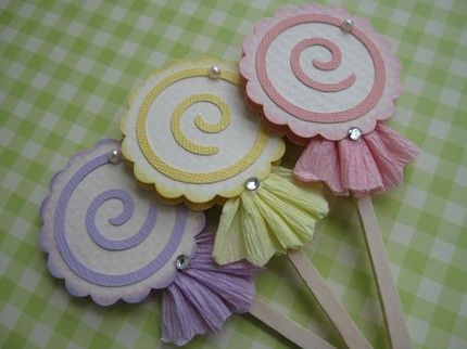 Sweet Pink Lollipop Candy by vsroses.com, via Flickr