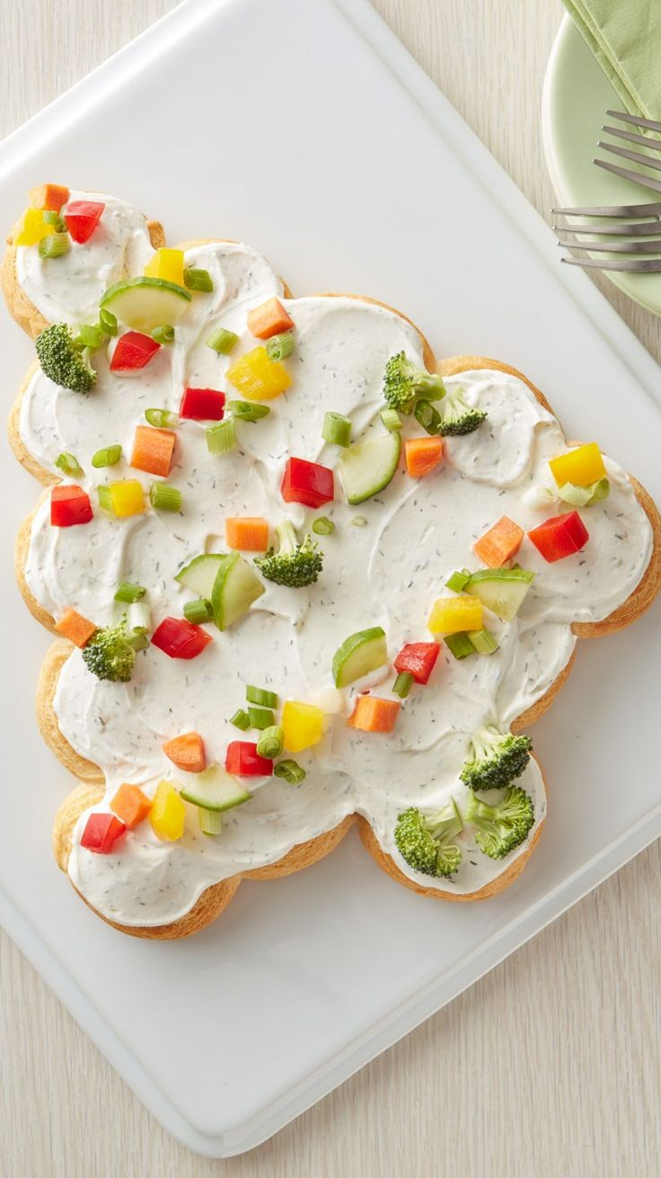 75 best holiday recipes images on pinterest holiday - Christmas tree shaped appetizers ...