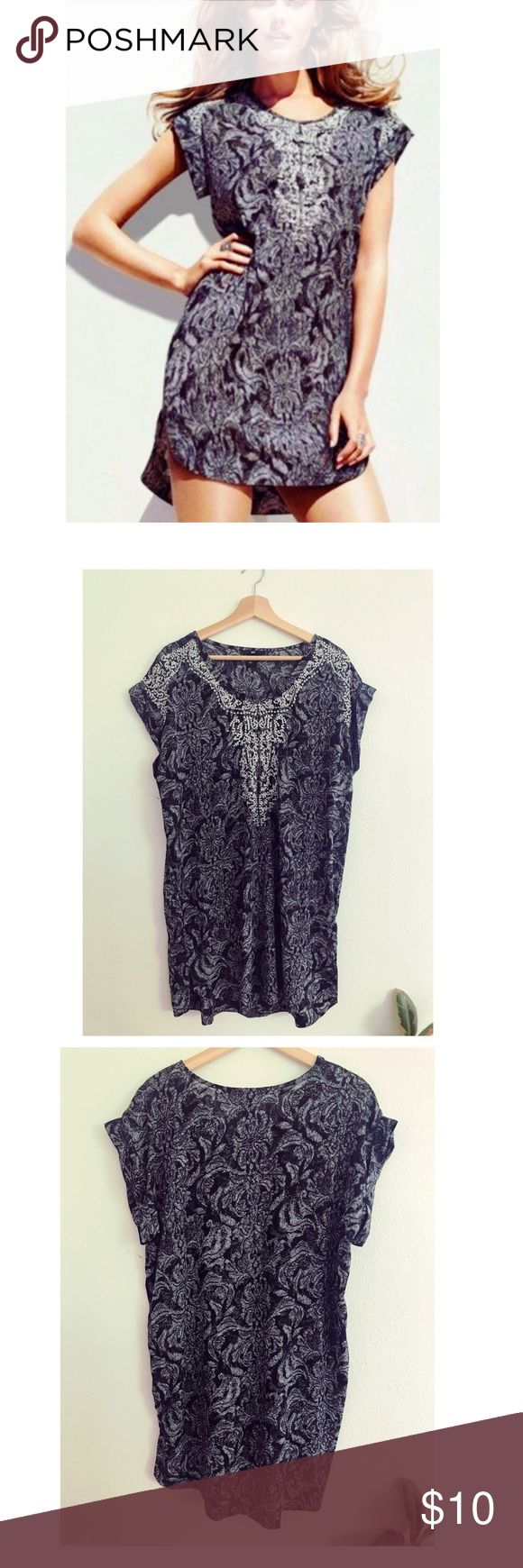 H&M embroidered tunic dress New without tags. Part of H&M's New Icon collection a few years ago. Paid $20 for this.  🚫No trades ❓Ask questions BEFORE purchasing or offering  👍🏾Accepting offers  📦Ships in one business day H&M Tops Tunics