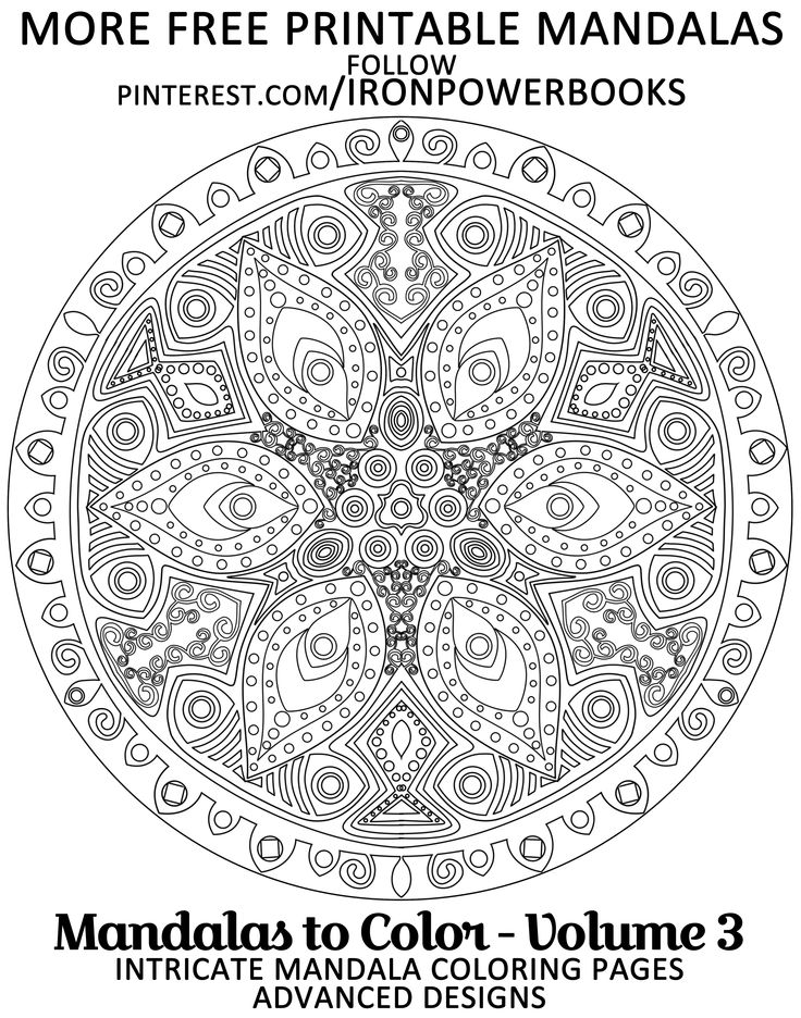 advanced mandala coloring pages - 17 best images about mandala antistress on pinterest