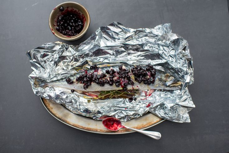 Tom Kitchin recipe: Whole mackarel with blackcurrant compote