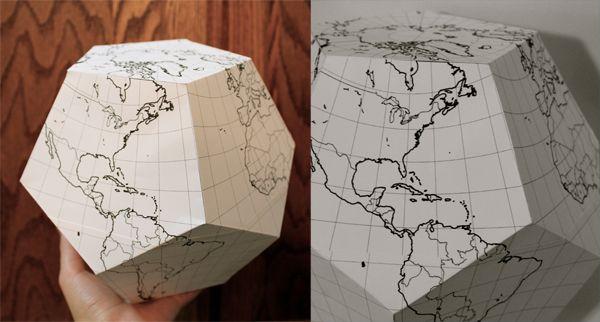 DIY Paper Globe