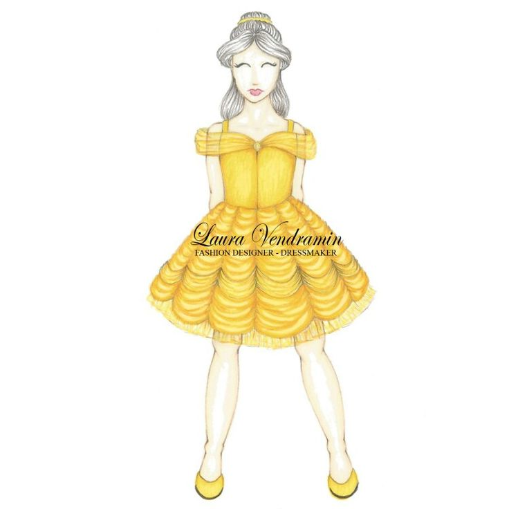 Princess Disney remake for children Belle