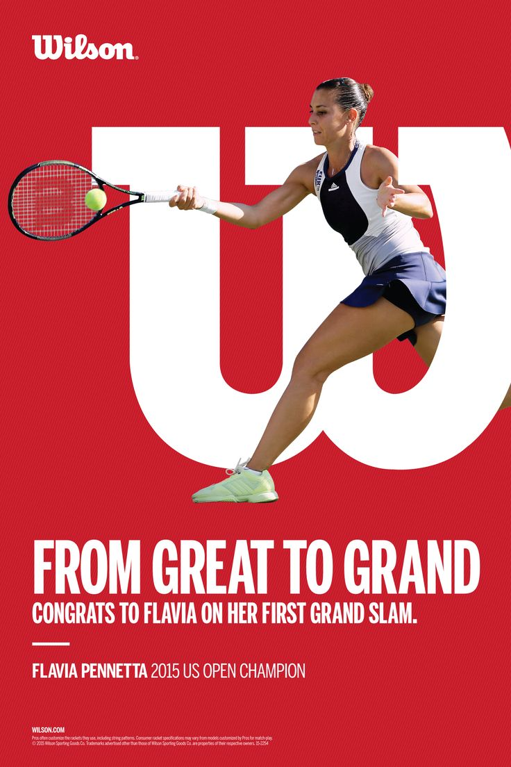 What a great win for Flavia Pennetta at the US OPEN 2015!   Out of 7 Wilson player in the quarters, Flavia finally did it and won her first single GRAND SLAM tournament!  http://www.youlivenow.co.za                                                                                               #flaviapennetta #USOpen2015 #wilsonplayer #grandslam