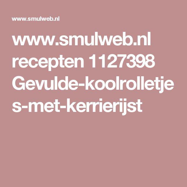 www.smulweb.nl recepten 1127398 Gevulde-koolrolletjes-met-kerrierijst