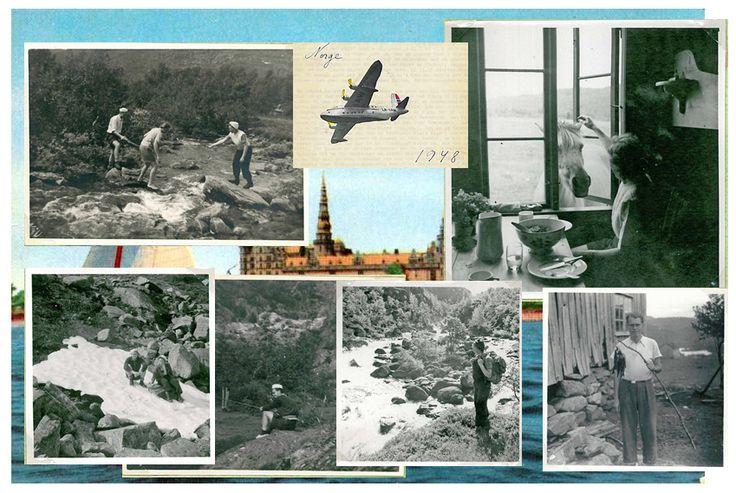 """Den første uge af Ruths og Aages fjertur i Norge er beskrevet i """"Turen til Norge 1948 #1"""". I denne anden del af historie fortæller Ruth om hvordan den anden uge forløb og deres hjemrejse."""