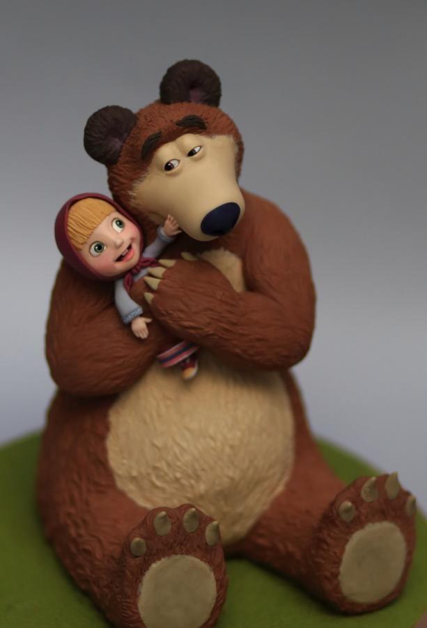 Masha and the Bear - Cake by Cesare Corsini