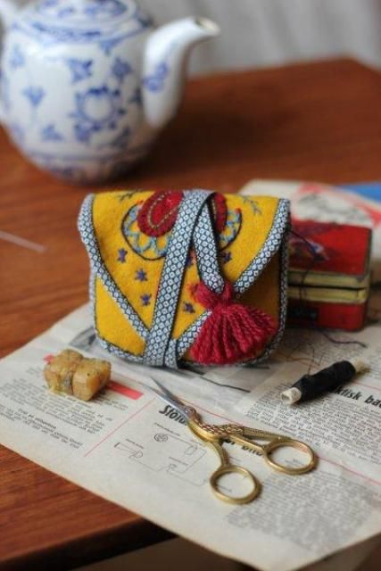 Minimesma - cute little sewing pouch