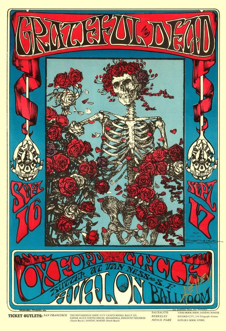Vintage Concert Posters   Vintage/Concert/Music Poster /The Grateful Dead/Avalon ...   Posters