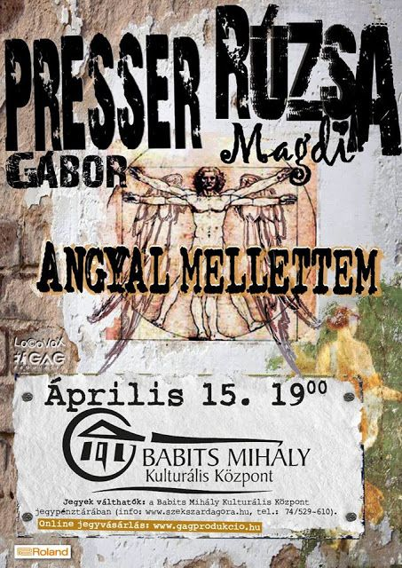 Plakát104: Presser Gábor - Rúzsa Magdi: Angyal mellettem