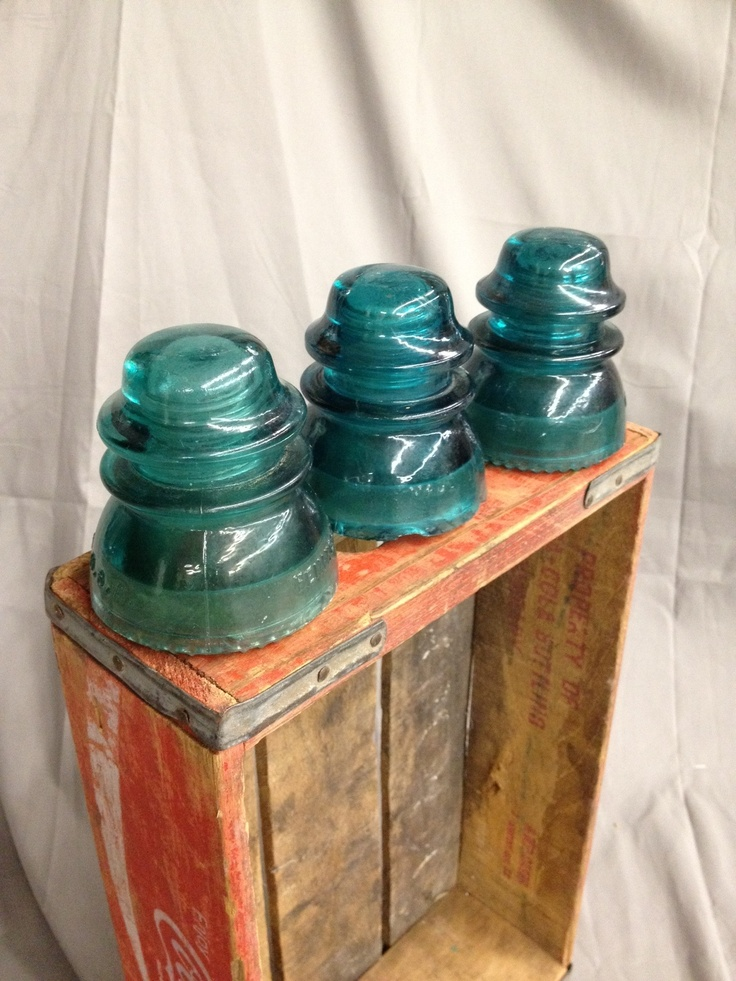 78 images about glass conductors on pinterest antique for Glass telephone pole insulators