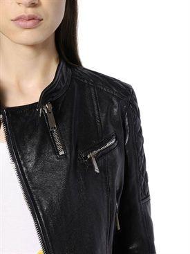 dsquared2 - женщины - кожаные куртки - кожаная куртка