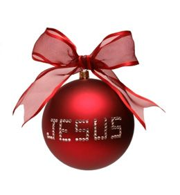 <3 Christmas... not about presents or decorations or music or food or even family.