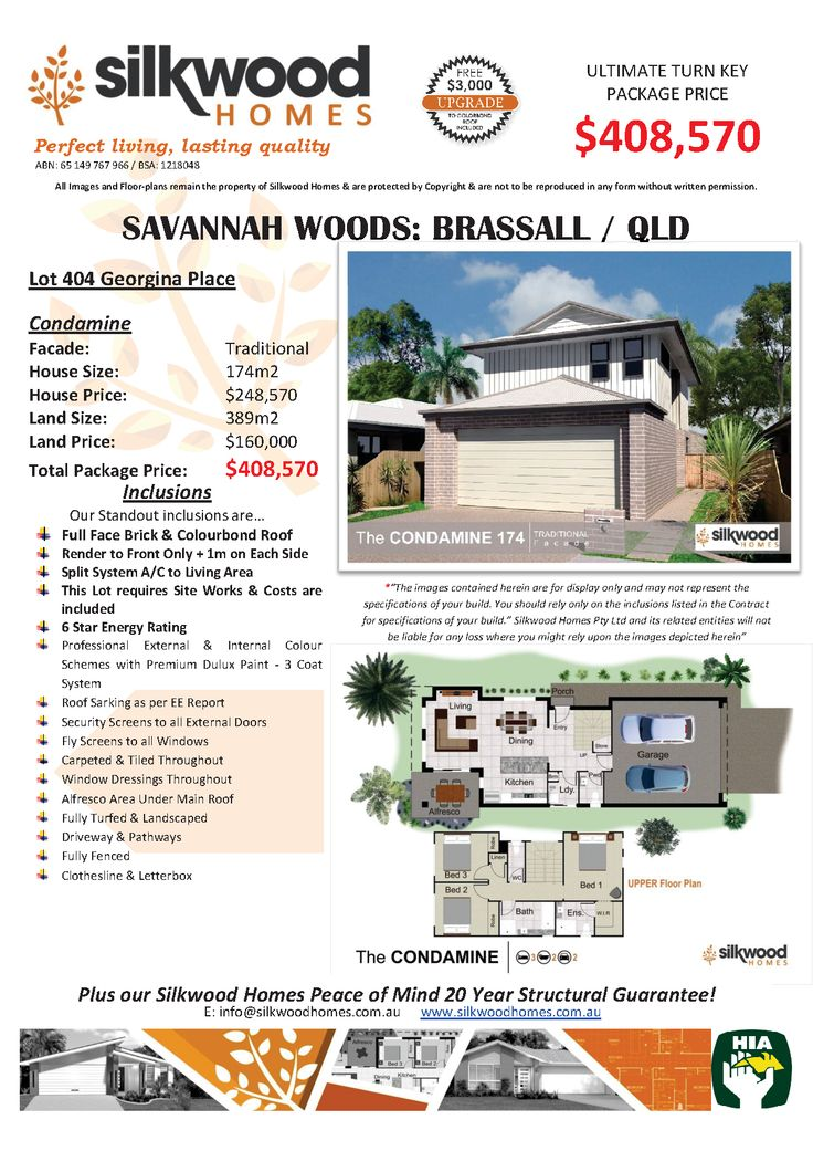 12 best Silkwood Homes House  Land Packages images on Pinterest