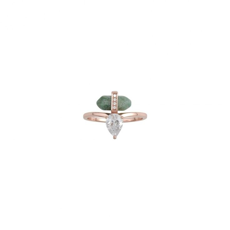 Samantha Wills Talulah Fox Petite Ring - African Jade