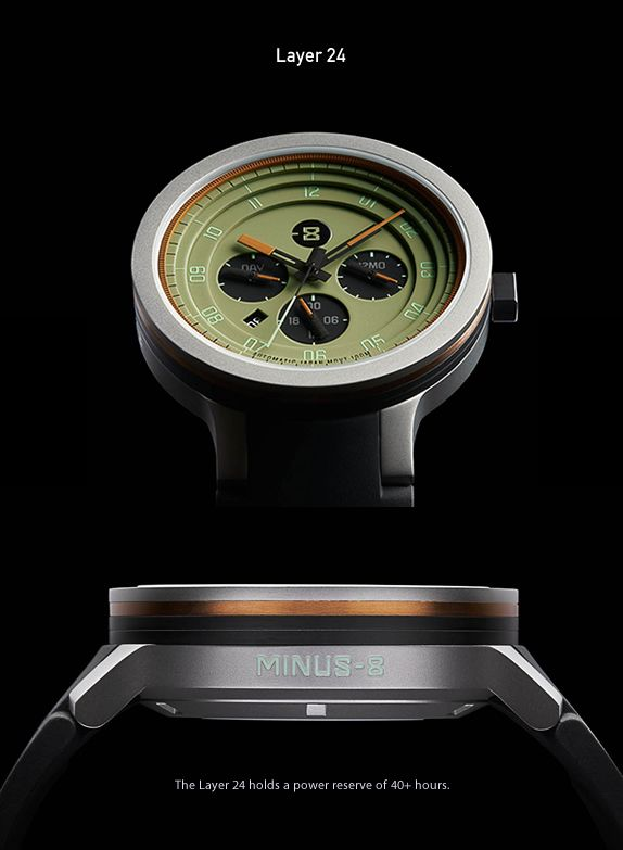 With the world embracing smartwatches in a mad frenzy, there is more swiping and clicking happening than actually telling the time. San Francisco watch makers Minus-8 pride themselves on keeping alive the functional excellence of traditional watchmak