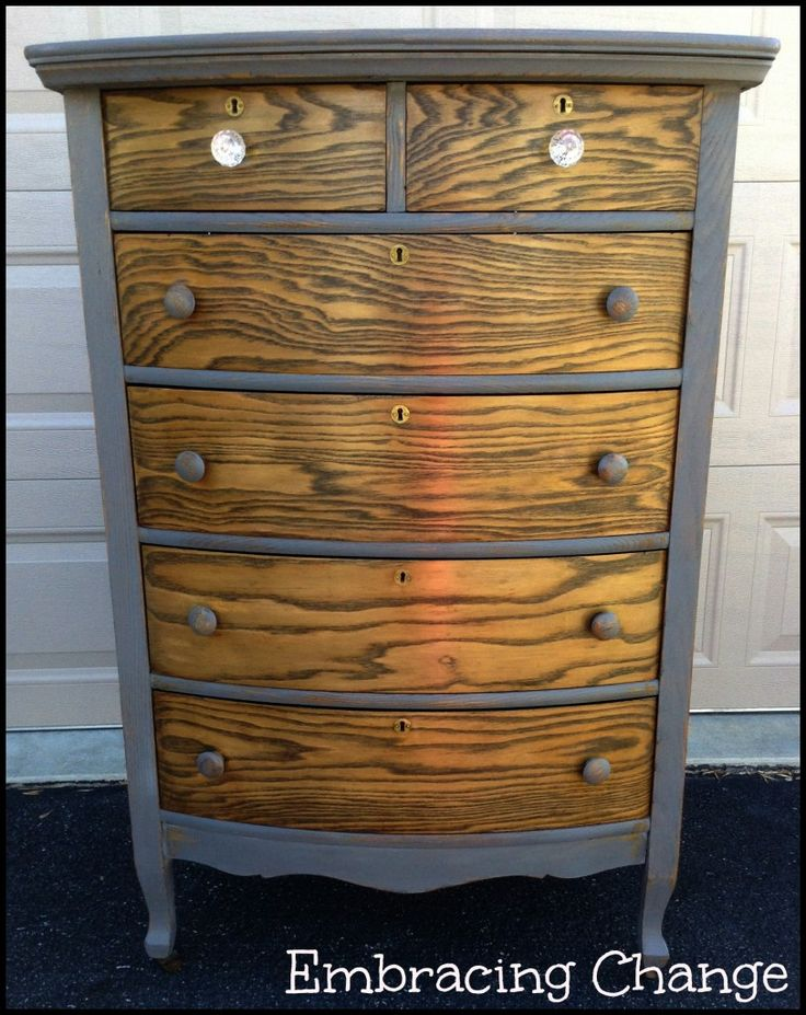 Natural Nadine: Rustic Glam Dresser   Miss Mustard Seed Milk Paint   Trophy    Embracing