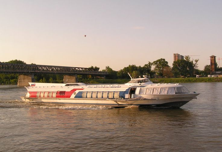 Donau flyder bigennem Bratislavca