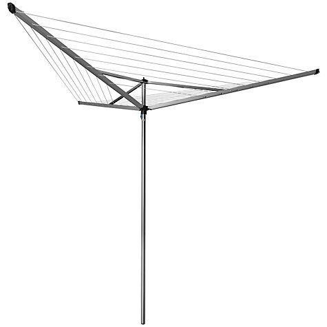 Buy Brabantia Compact Rotary Clothes Airer Washing Line, 30m Online at johnlewis.com