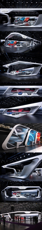 Audi Moscow 2012 by Malte Schweers, via Behance