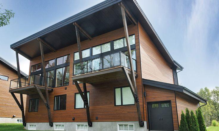 Voici un projet résidentiel de la région de Québec avec du lambris Maibec. Découvrez nos autres réalisations dans notre portfolio.