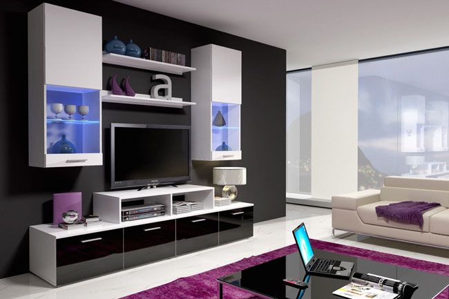 M s de 1000 ideas sobre centro de entretenimiento - Mueble salon minimalista ...