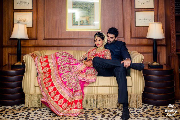 Kratika Sengar & Nikitin Dheer | Indian Wedding Portrait | Indian Wedding | Photo by The Wedding Salad