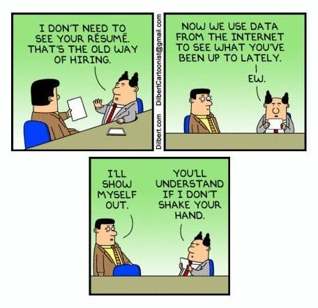 Best Job Interview Meme Ideas On Pinterest Lol Memes Job - Funny illustrations show how job interviews would go at famous companies