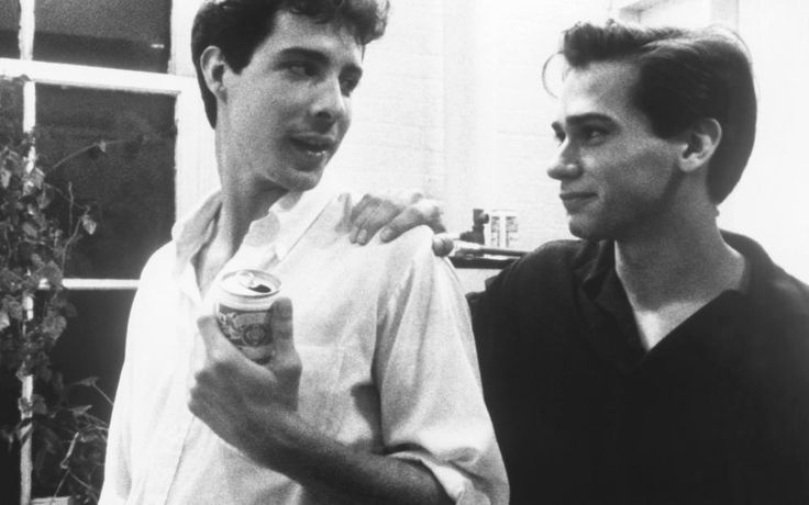 Richard Ganoung, Adam Nathan, 1986   Essential Gay Themed Films To Watch, Parting Glances http://gay-themed-films.com/watch-parting-glances/