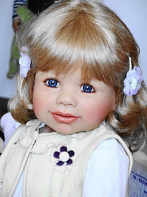 Мои любимые куклы Моники Петер-Ляйхт часть-1 (большие девочки) / Коллекционные куклы Masterpiece dolls / Бэйбики. Куклы фото. Одежда для кукол