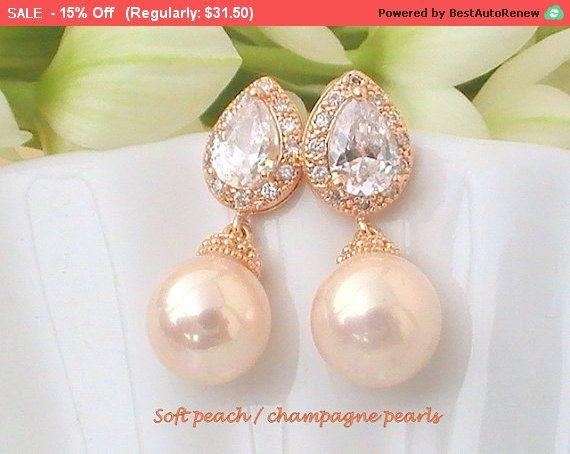 Peach/nubilato Regali regalo da damigella d'onore di Crystalshadow