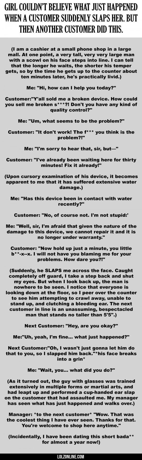 How Can She Slap?! #lol