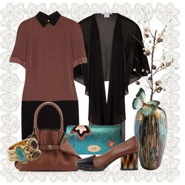 """""""Just Sets: Strolling in a park (Dries Van Noten shoes)."""" by hana-tanana on Polyvore"""